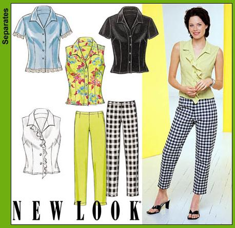 New Look Misses Shirts and Pant 6079OOP