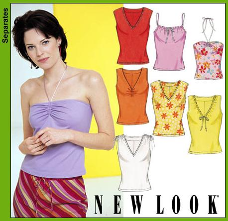 New Look Misses Knit Tops 6088OOP