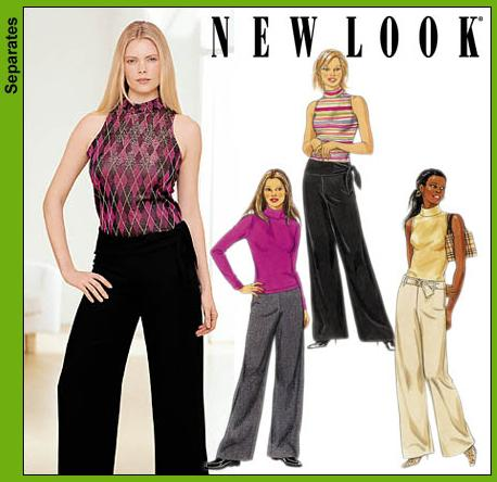 New Look Misses Pants and Knit Tops 6109