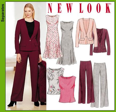 New Look Misses Dress, Jacket, Top and Pants 6114OOP