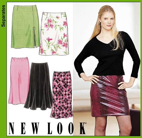 New Look Misses Skirts 6118
