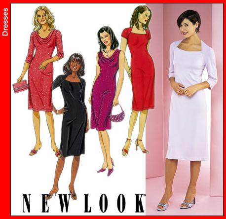 New Look Misses Dress 6154