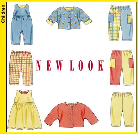 New Look Babies Dress or Jumper, Romper, Pants and Jacket 6175
