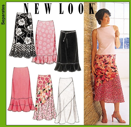 New Look Misses Skirts 6177