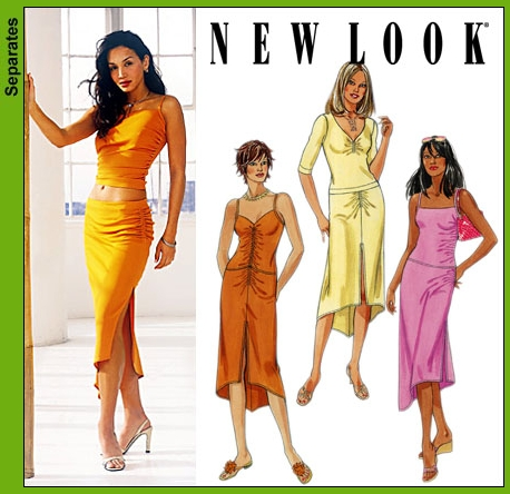 New Look Misses Tops and Skirts 6188