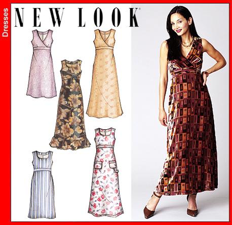 New Look Misses Dress 6200