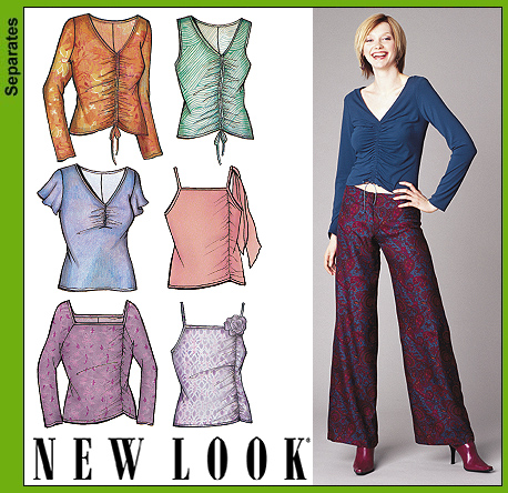 New Look Misses Knit Tops 6204