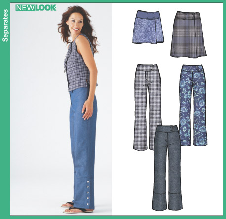 New Look Misses Skirts and Pants 6218