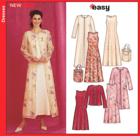 New Look Misses Dress, Jacket and Bag 6270