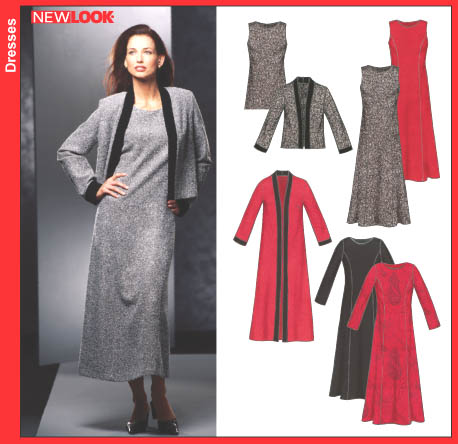 New Look Misses Dresses 6305