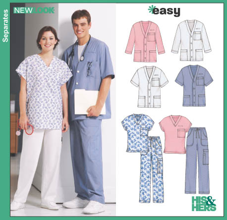 New Look Unisex Scrubs 6307