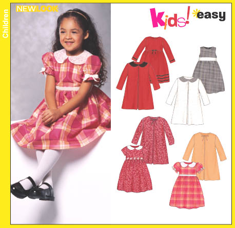 New Look Childs Dress and Coat 6309