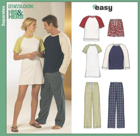 New Look Unisex Sleepwear 6321
