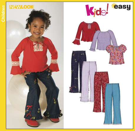 New Look Childs Top and Bootleg Pants 6337