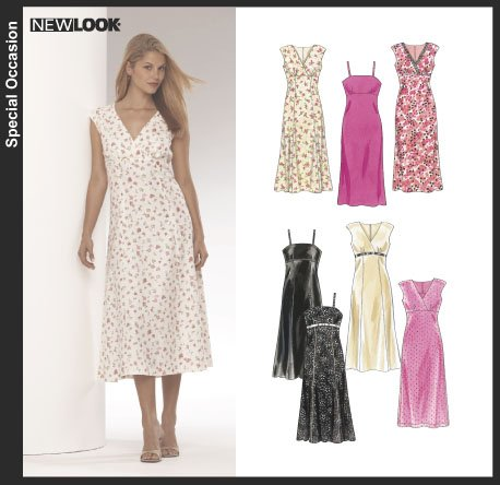 New Look Misses Dress 6341