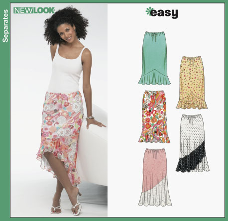 New Look Misses Skirts 6343