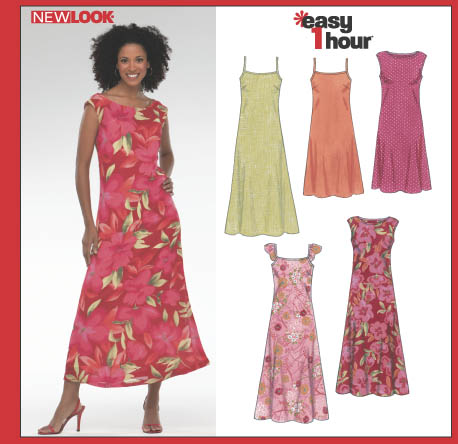 New Look Misses Dress 6347