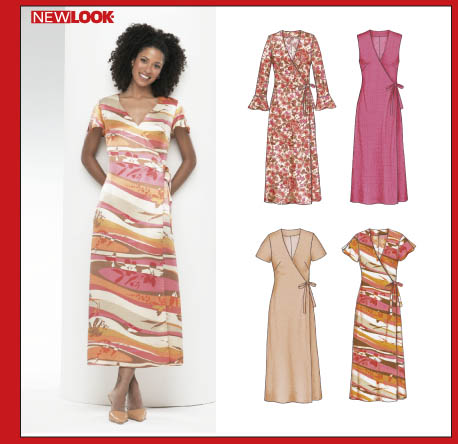 New Look Misses Dress 6349