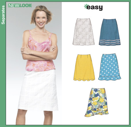 New Look Misses Skirts 6353