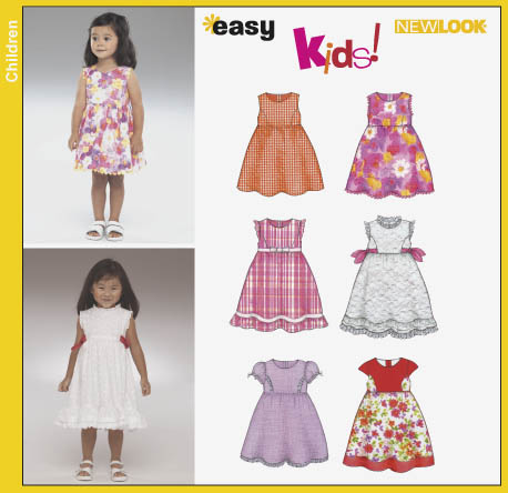 New Look Toddlers Dress 6364