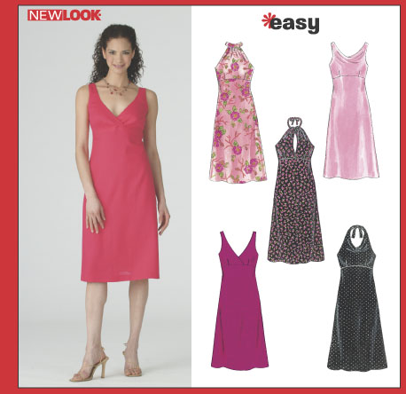 New Look Misses' Dresses 6375