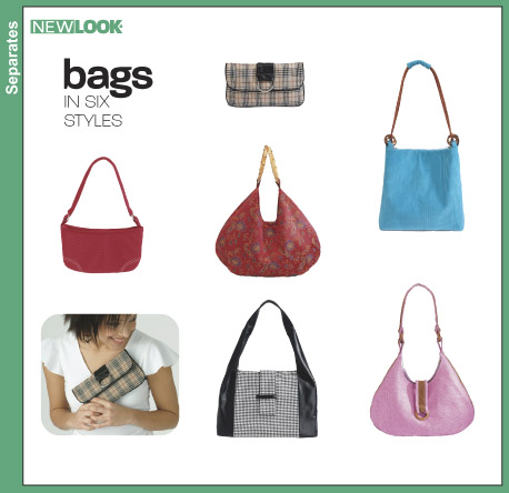 New Look Bags in six styles 6397
