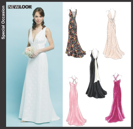 New Look Misses Special Occasion Dresses 6401