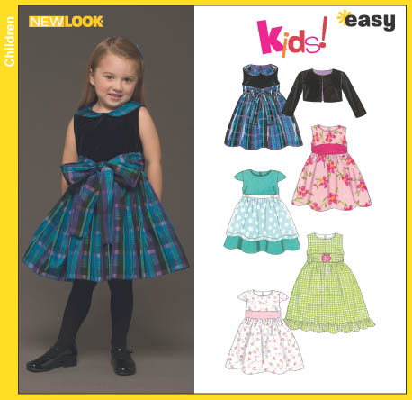 New Look Toddlers' Dress and Jacket 6448