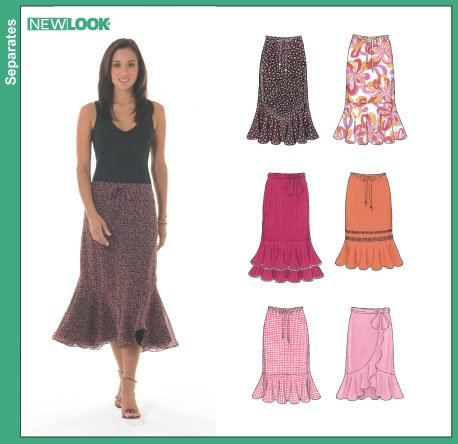 New Look Misses' Skirts 6463