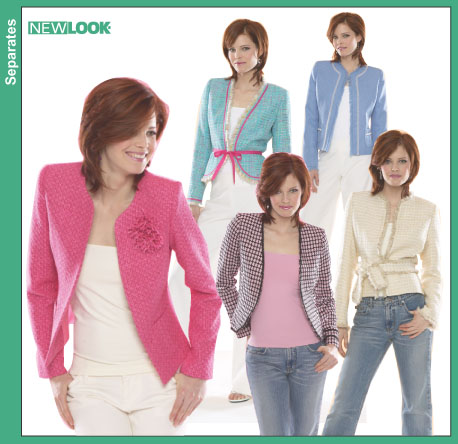 New Look Misses Lined Jackets 6487