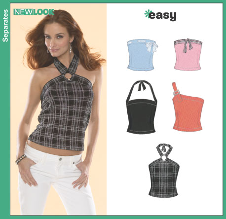 New Look Misses Knit Tops 6489