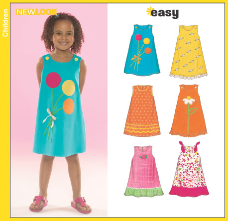 New Look Childs Dresses 6504