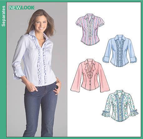 New Look Misses Shirts 6513