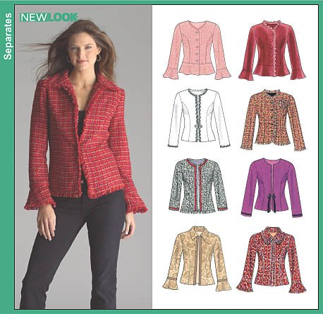 New Look Misses Lined Jackets 6516