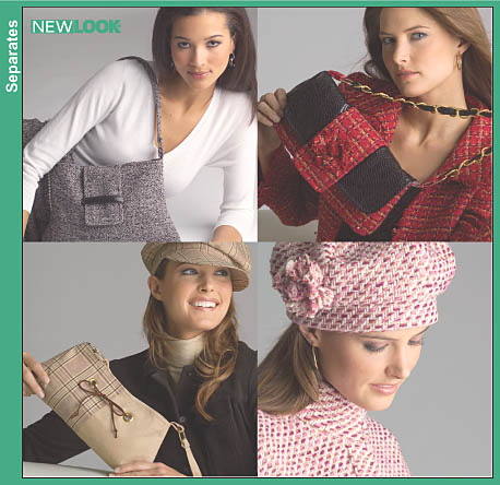 New Look Misses Hat and Bags 6522