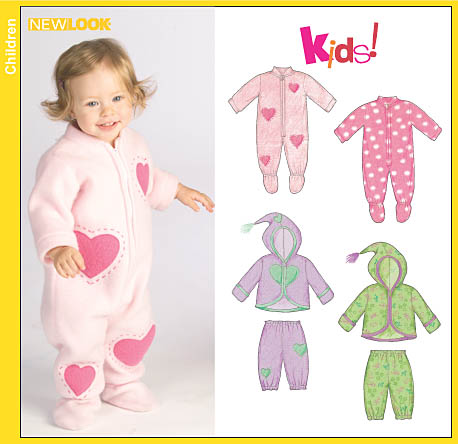 New Look Babies Onesie, Jacket and Pants 6525