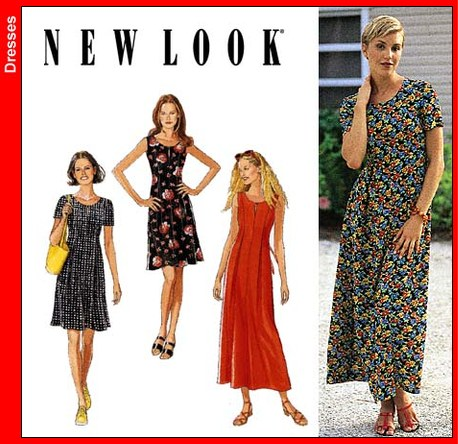 New Look Misses Dress 6601