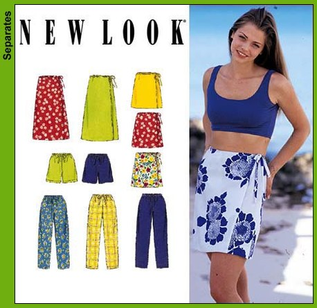 New Look Misses Wrap Skirts, Pants and Shorts 6637