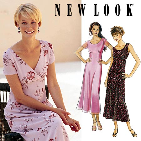 New Look Misses Dress 6827
