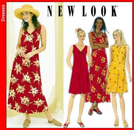 New Look Misses Dress 6866