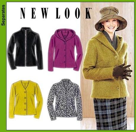 New Look 4 variations casual jacke 6898OOP