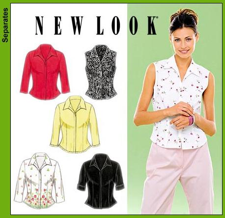 New Look Misses Tops 6952
