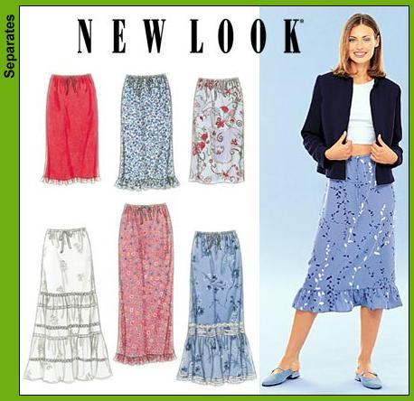 New Look Misses Skirts 6953