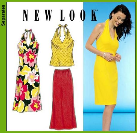 New Look Misses One and Two Piece Dress 6974OOP