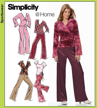 Simplicity Raglan sleeve top 4887