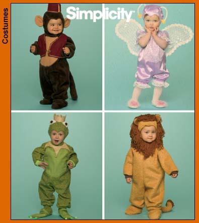 Simplicity Monkey Costume 4910