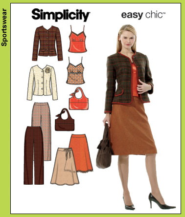 Simplicity Easy Chic 4951