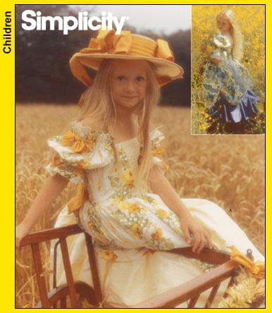 Simplicity Child's dress 4980