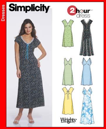 Simplicity 2 Hour Dress 5049