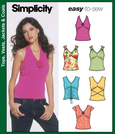 Simplicity knit tops 5055